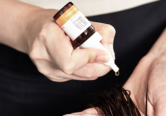 Hair strengthening ampoule